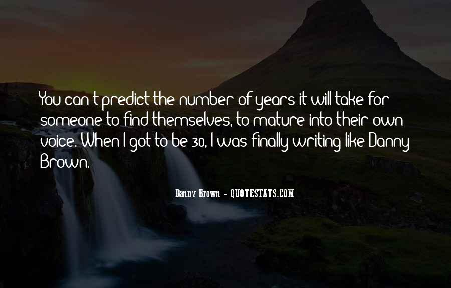 Quotes About Number Of Years #653077