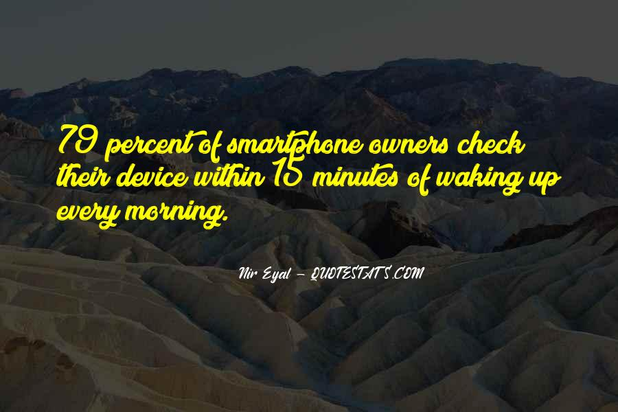 Quotes About Waking Up Every Morning #190548