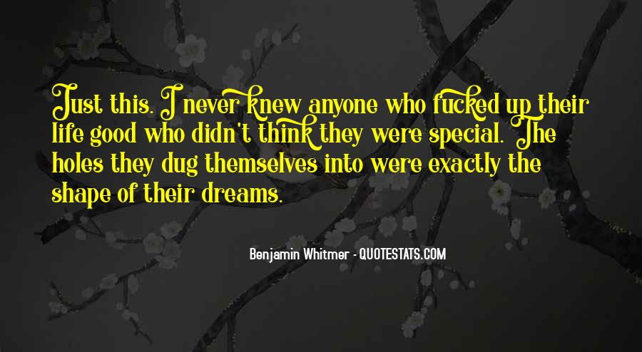 Quotes About Special Things In Life #136892