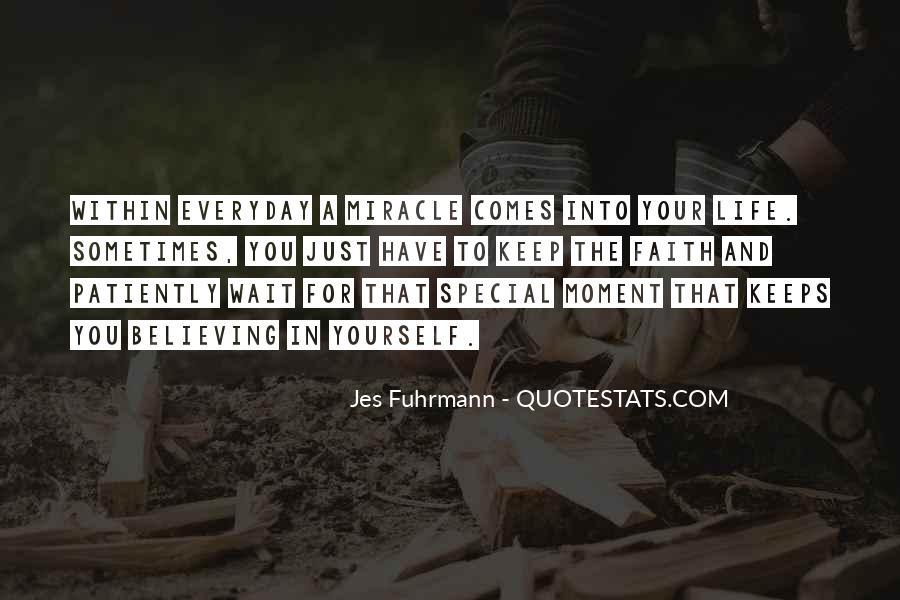 Quotes About Special Things In Life #154147