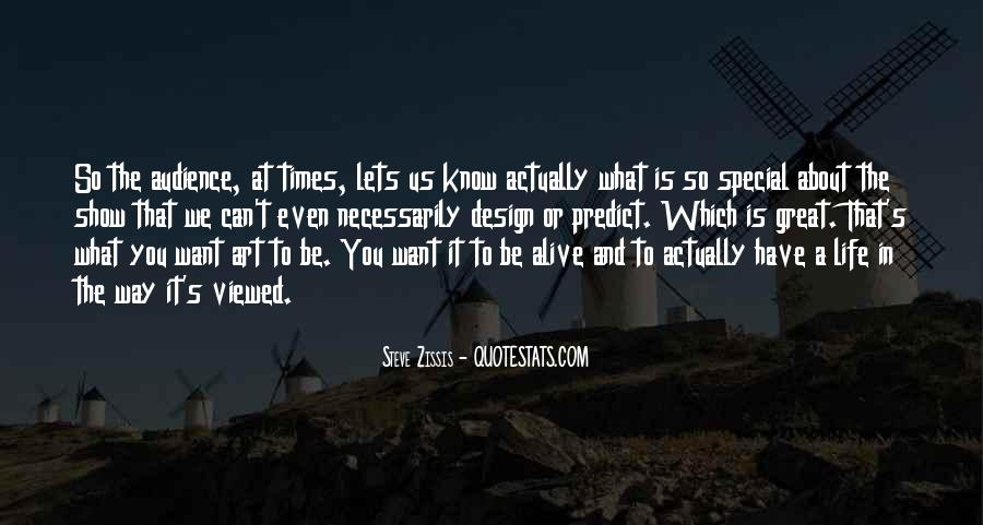 Quotes About Special Things In Life #161061
