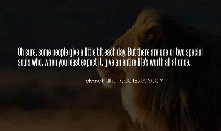 Quotes About Special Things In Life #177075