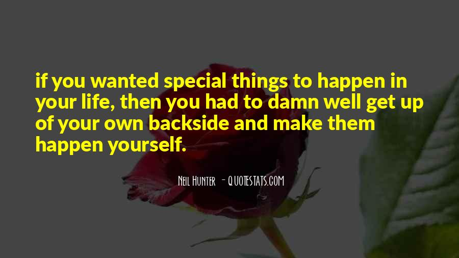 Quotes About Special Things In Life #33256