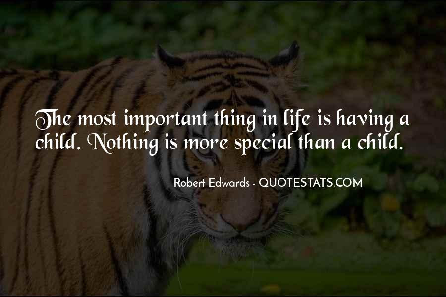Quotes About Special Things In Life #51029