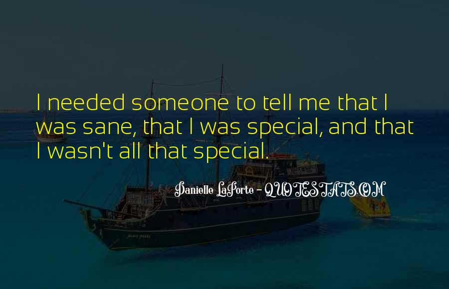 Quotes About Special Things In Life #56756