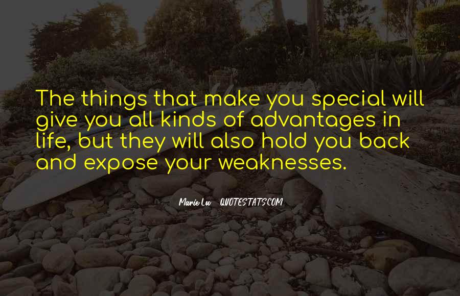 Quotes About Special Things In Life #93640