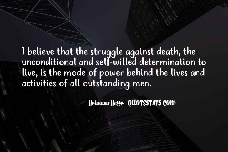 Quotes About Struggle And Death #1387416