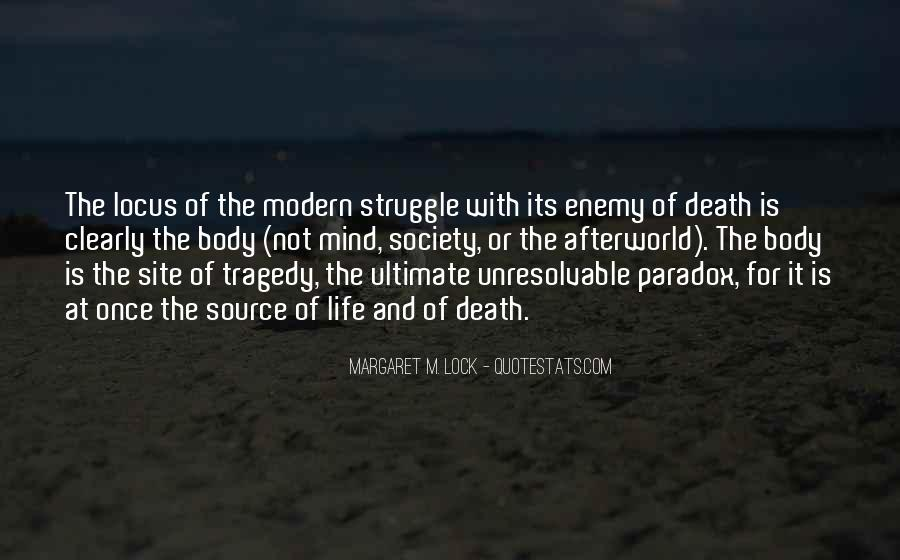 Quotes About Struggle And Death #1518782