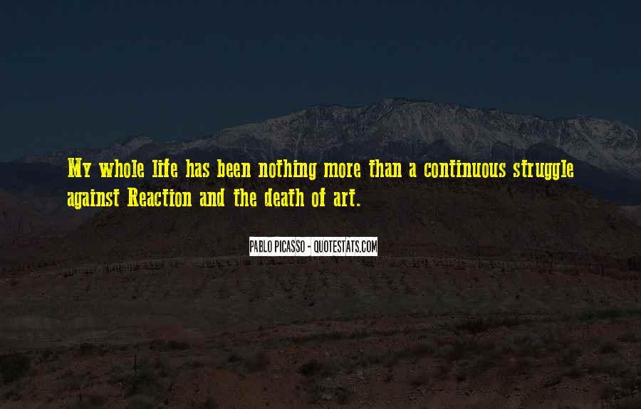 Quotes About Struggle And Death #1557627