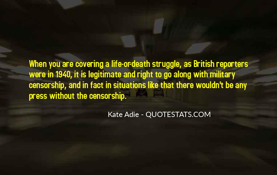 Quotes About Struggle And Death #303675