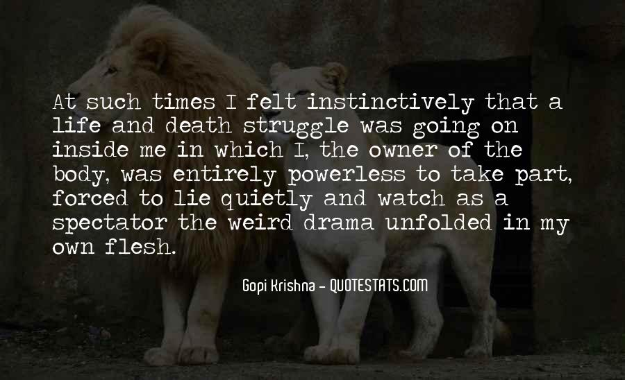 Quotes About Struggle And Death #389112