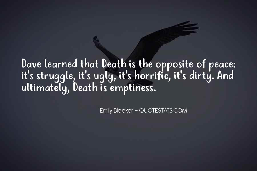 Quotes About Struggle And Death #991558