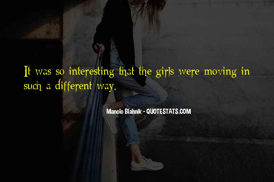 Quotes About Moving On From A Girl #563174