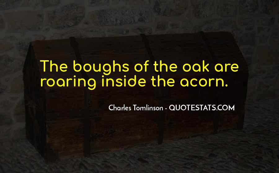 Quotes About Acorns #1198895