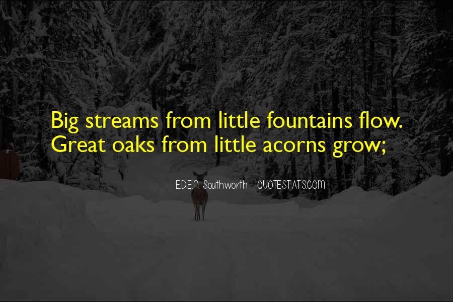 Quotes About Acorns #1671633