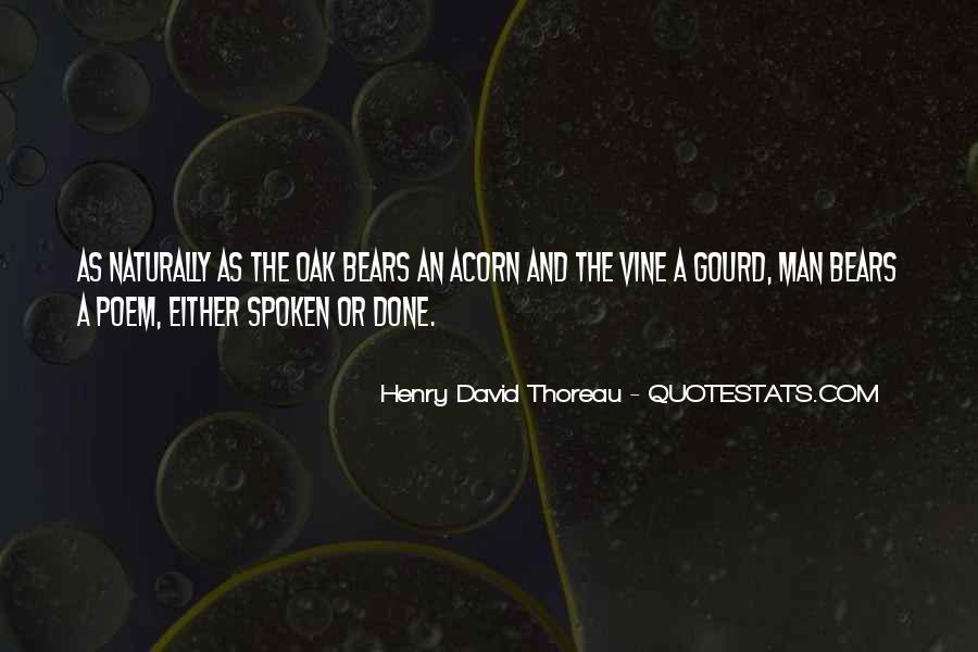 Quotes About Acorns #1700150