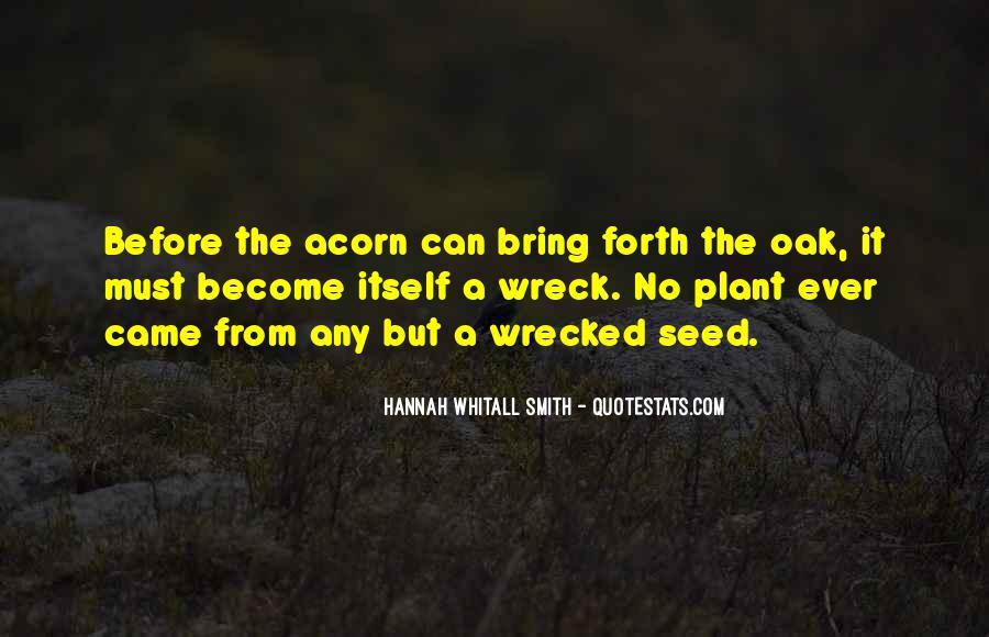 Quotes About Acorns #326579