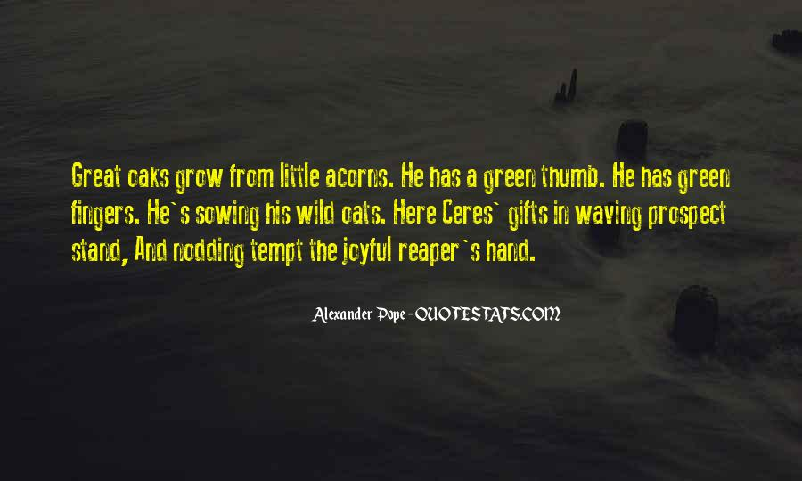 Quotes About Acorns #429549