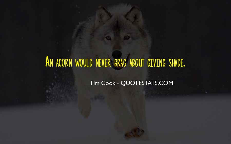 Quotes About Acorns #66631