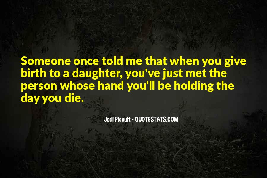 Quotes About Hand Holding #102572