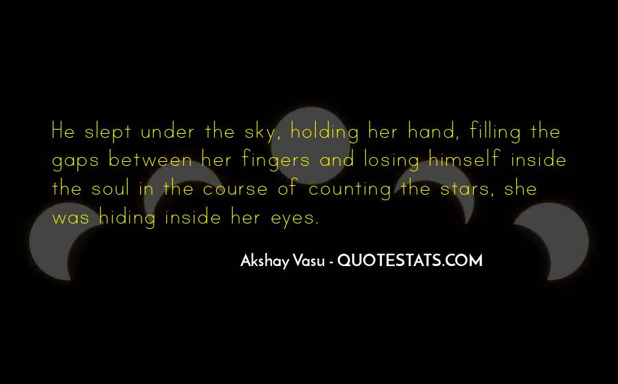 Quotes About Hand Holding #127622