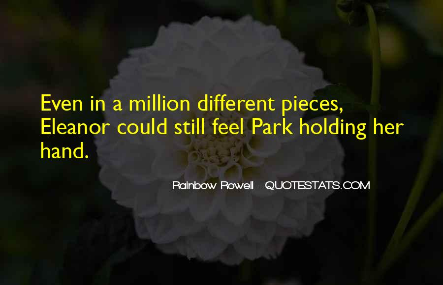 Quotes About Hand Holding #135424