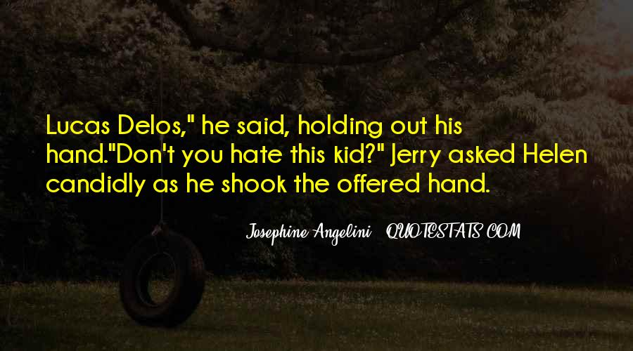 Quotes About Hand Holding #197096