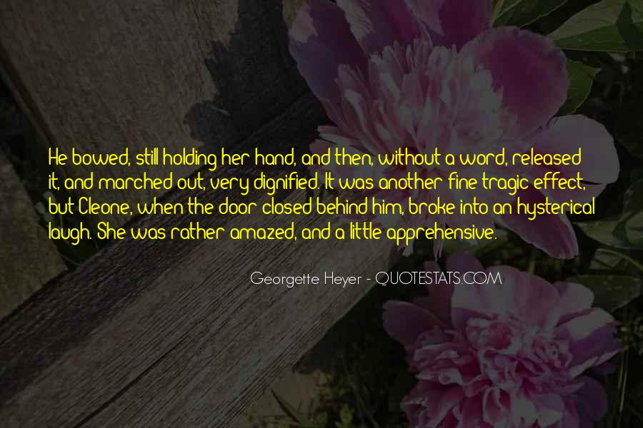 Quotes About Hand Holding #218974