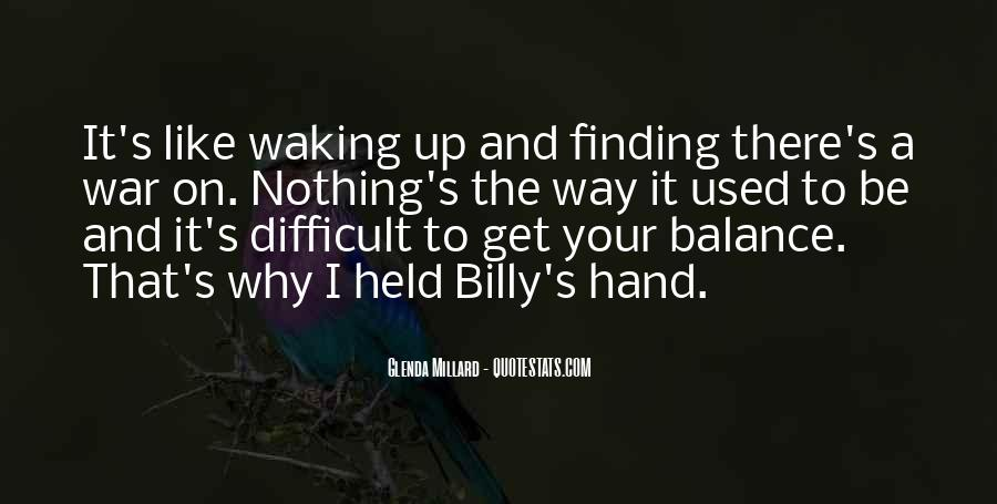 Quotes About Hand Holding #238605
