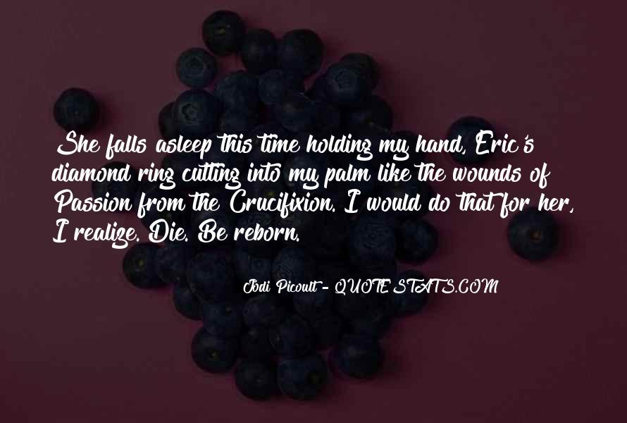 Quotes About Hand Holding #242745