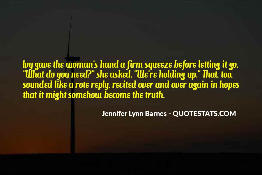 Quotes About Hand Holding #250200