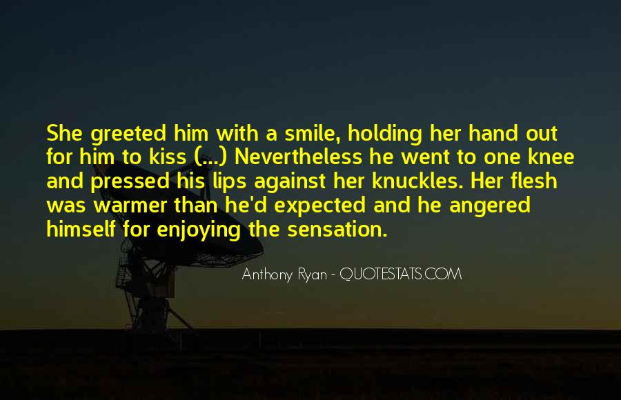 Quotes About Hand Holding #332040