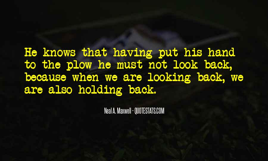 Quotes About Hand Holding #361076