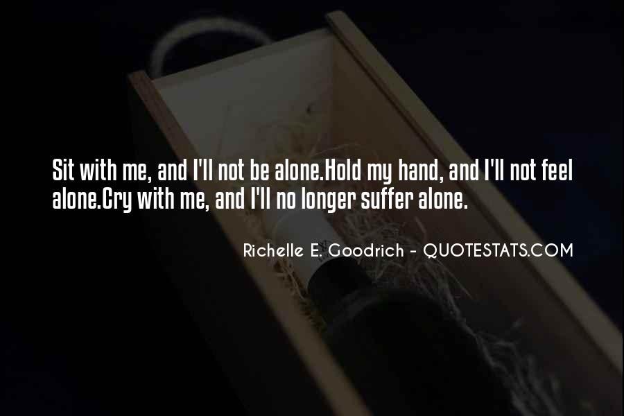 Quotes About Hand Holding #386811