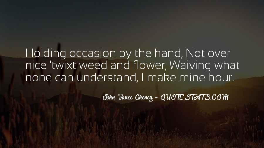 Quotes About Hand Holding #468427