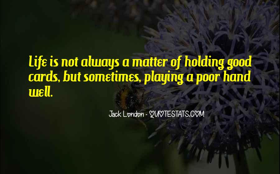 Quotes About Hand Holding #64888