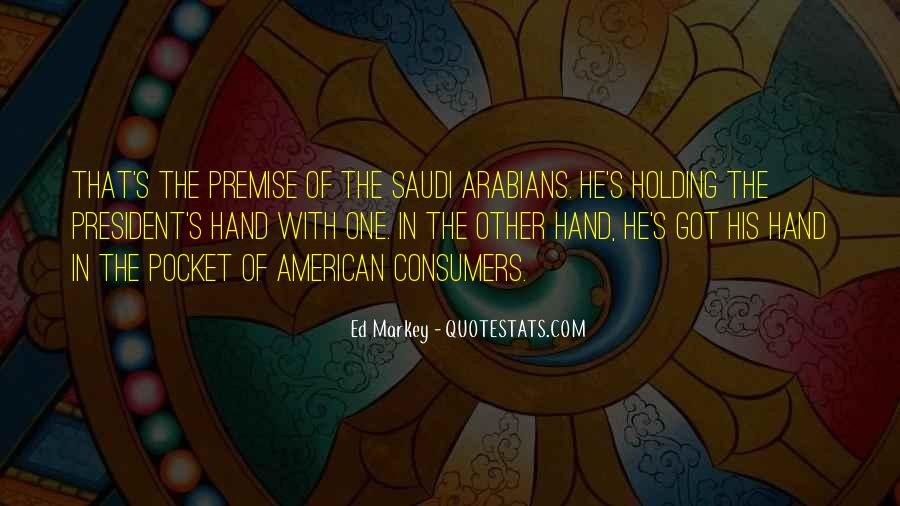 Quotes About Hand Holding #99786
