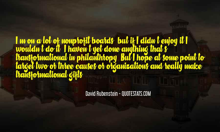 Quotes About Nonprofit Boards #690802