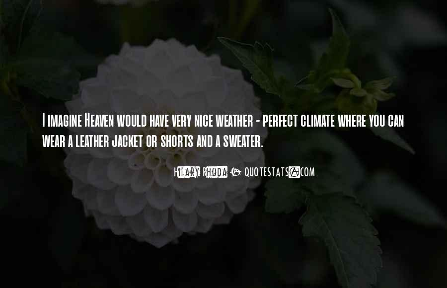 Quotes About Sweater Weather #1606912