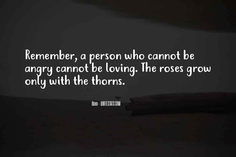 Quotes About Thorns #10157