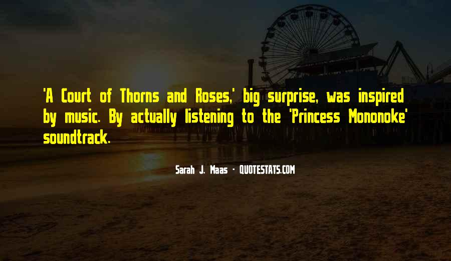 Quotes About Thorns #129432