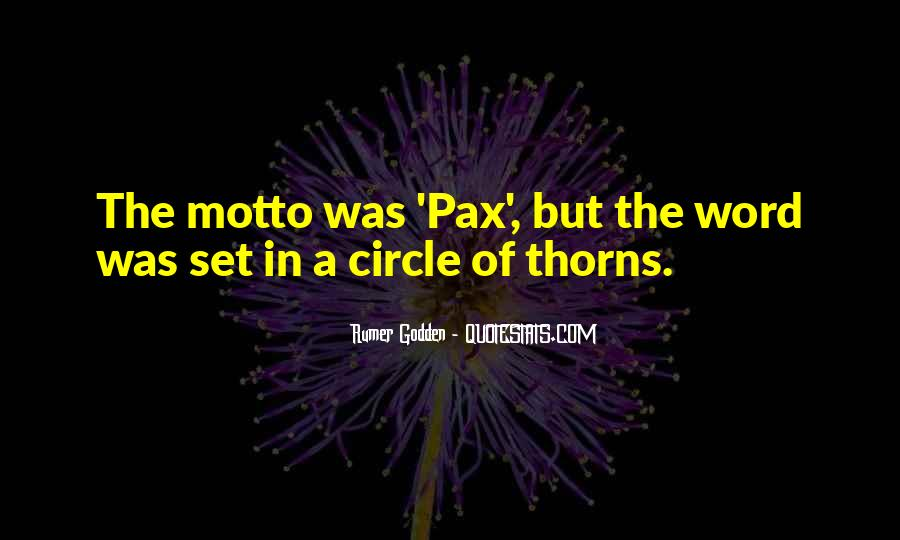 Quotes About Thorns #132820