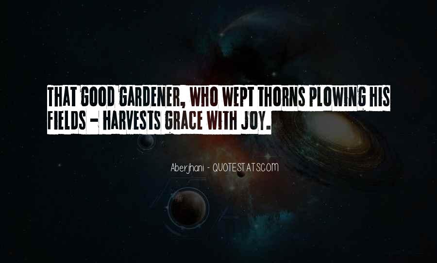 Quotes About Thorns #287999