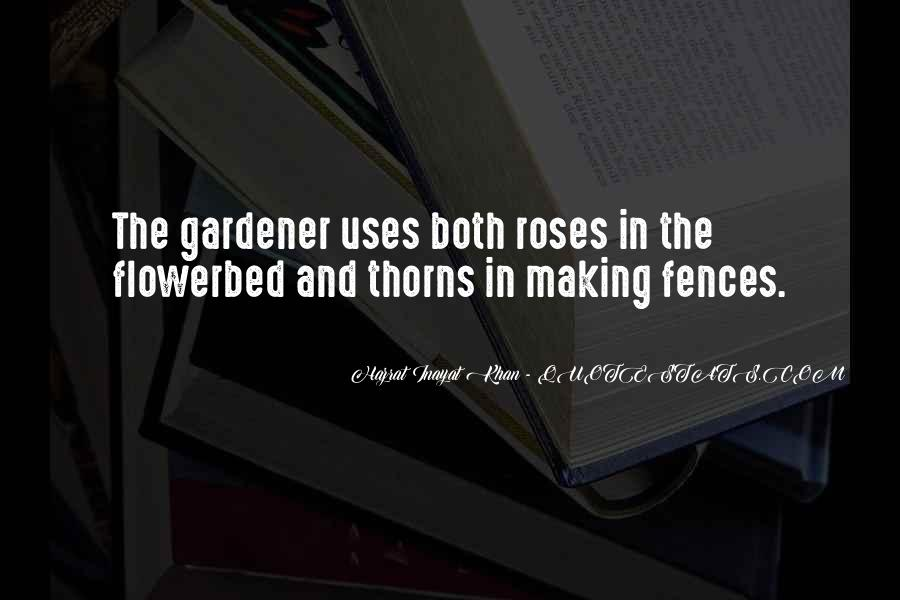 Quotes About Thorns #290007