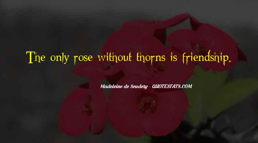 Quotes About Thorns #61354