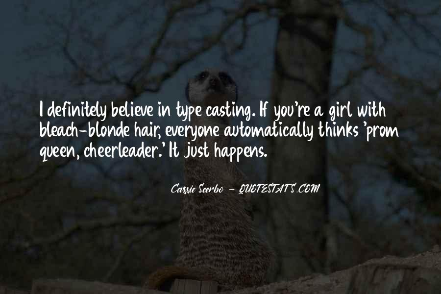 Quotes About She's The Type Of Girl #123562