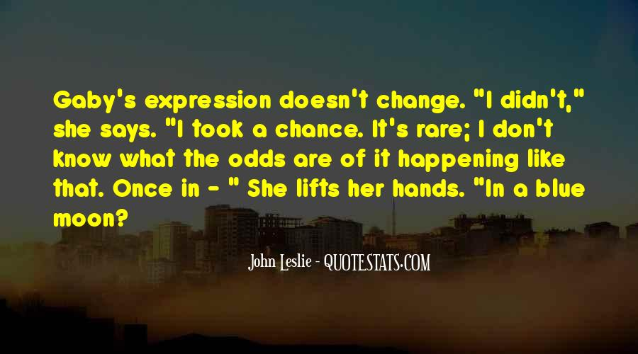 Quotes About I Didn't Change #203647