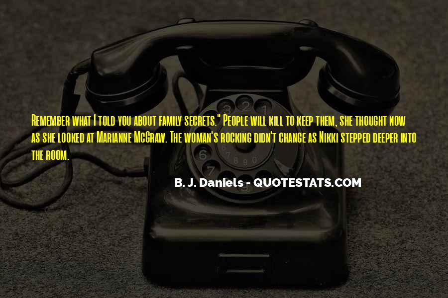 Quotes About I Didn't Change #914449