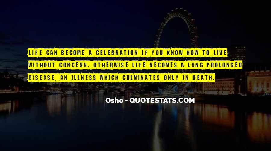 Quotes About Celebration Of Death #121888