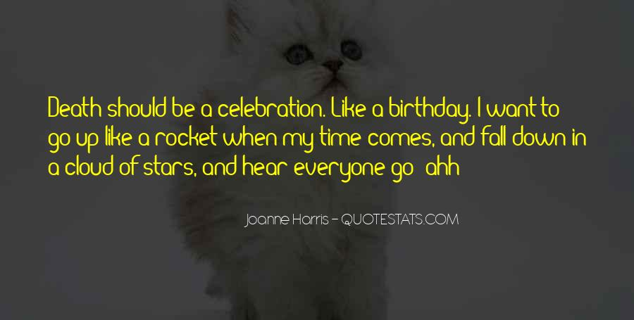 Quotes About Celebration Of Death #1508028